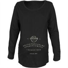 Halloween Ouija Board Costume Black Maternity Soft Long Sleeve T-Shirt