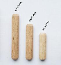 BOSCH 10mm Holzdübel Riffeldübel aus Buche Tiefenstopp Dübelsetzer Markierhilfe