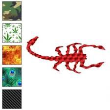 Scorpion Art Decal Sticker Choose Pattern + Size #603