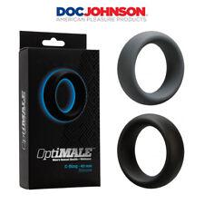 Anello fallico in silicone estensibile Doc Johnson OptiMALE C-Ring 40 mm for men
