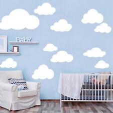 Pegatina pared XXL Tamaño Nubes Set 12388 CLOUDS cielo DORMITORIO INFANTIL