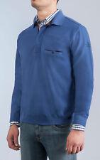 Maglione Polo Green Coast con Zip e Taschino misto lana chicco riso in 8 Colori