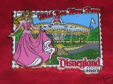 Sleeping Beauty King Arthur Carousel Postcard 2007 Disney Pin*