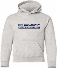 Cray Research Inc Vintage Logo HOODY