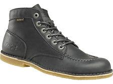 KICKERS Chaussures KICK LEGEND Black Noir-Chaussure Lacée-Cuir -