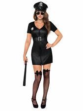 Déguisement officier de police femme sexy noir Cod.303887