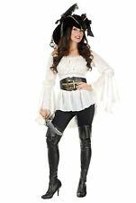Pirate Lady Vixen Blouse Adult Costume Shirt