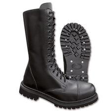 14-loch UK Ranger boots stivali 39-47 pelle gotico Stivali Cappa in acciaio