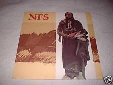 NFS Not For Sale LP Rabid Cat Austin TX 1986