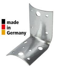 Rundholzverbinder 80 x 60 x 1,5 mm Verbinder Rundholz verzinkt MADE in GERMANY