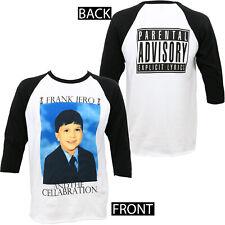 Authentic FRANK IERO 1st Grade Raglan T-Shirt White Black S M L XL 2XL NEW