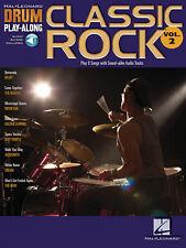 Classic Rock - Drum Set - Recueil + Enregistrement(s) en ligne