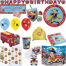 Feuerwehrman Sam Kindergeburtstag Party Set Geburtstag Feuerwehr Auto Mottoparty