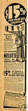 1937 Melotte Milk Cream Dairy Separator Trade In Vintage Print Ad