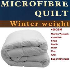 Microfibre Quilt / Doona  400GSM Single / Double / Queen / King / Super King Bed
