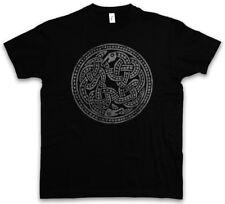 NORSE SNAKES T-SHIRT Walhalla Ravens Odin Mjölnir Loki Midgard Rune Schlangen