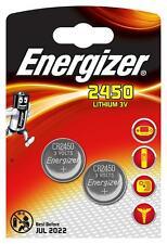 Energizer Lithium Knopfzellen Batterie CR2450 DL2450 2er Blister MHD 7/2023