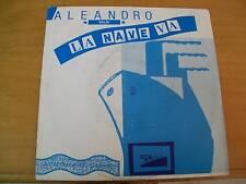 """ALEANDRO BALDI  E LA NAVE VA 7""""  SANREMO 1986"""