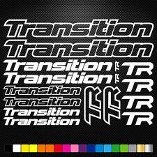 Transition 16 Stickers Autocollants Adhésifs - Vtt Velo Mountain Bike Freeride