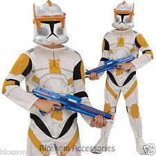 CK363 Clone Trooper Commander Cody Star Wars Costume Boys Fancy Dress Up Costume
