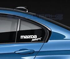 Mazda Motorsport Decal Sticker logo JDM Mazdaspeed RX-7 RX-8 Miata New Pair