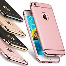 Apple iPhone 6 6S Hybrid Cover Hülle Hardcase Handyhülle Tasche Gold Etui Case