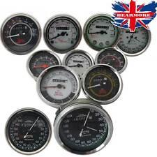 Royal Enfield BSA Norton Smith Replica Speedometer KPH & MPH 0-160 / 0-220 Bar