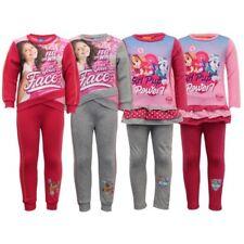 Girls Paw Patrol Tracksuit Nickelodeon Disney Sweatshirt Bottoms Soy Luna Pyjama