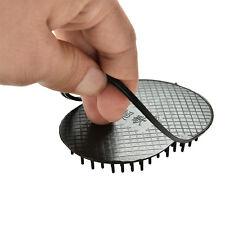 Portátil bolsillo cepillo de pelo cabeza cuerpo masaje militar duro peine SE