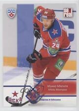 2012-13 Sereal KHL CSKA Moscow #CSK-005 Mikko Maenpaa Rookie Hockey Card