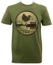 Authentic WOODSTOCK Bird On Guitar 1969 Slim Fit T-Shirt S M L XL XXL NEW