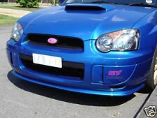 V-ltd Subaru Impreza Wrx Estilo Divisor / Frontal Lip Spoiler 2003-05 blobeye. Pu.