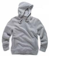 SCRUFFS Worker Hoodie Warm Mens Work Top Hoody Grey Marl Sweatshirt S-XXL