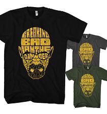 Herren T-Shirt Walter White Text Art Crystal Breaking Bad Heisenberg Neu HT21817