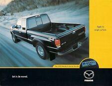 MAZDA B-Serie Pick-up specifica 1999 mercato CANADESE OPUSCOLO illustrativo