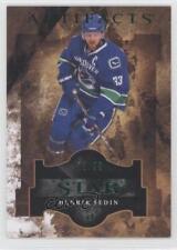 2011 Upper Deck Artifacts Emerald 124 Henrik Sedin Vancouver Canucks Hockey Card