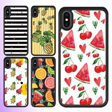 iPhone X 8 8 Plus 7 6 6s SE 5 Case Cute fruit fruity Bumper Shockproof Cover