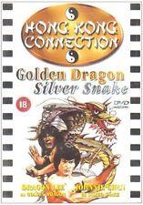 GOLDEN DRAGON SILVER SNAKE (DVD, 2006) NEW&SEALED DVD Old school KUNG-FU!!