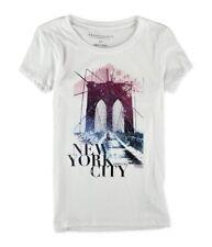 Aeropostale Womens Brooklyn Bridge Graphic T-Shirt