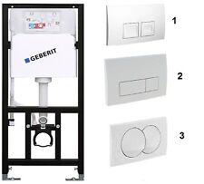 WC Vorwandelement mit Geberit UP Delta m.Wand - Wc  3 Platten zur Auswahl
