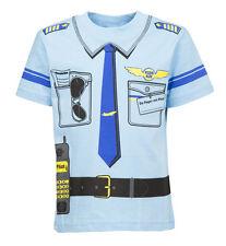 Pompieri 92//98 a 140//146 Bambini Costume Uniform T-Shirt