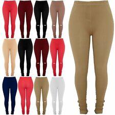 Plus Size Ladies Womens Pockets Elasticated Full Length Jeggings Denim Leggings