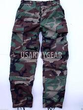 Made in USA ARMY Woodland Camo BDU Fatigues Military Uniform Pants Trousers USGI