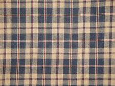 Plaid Fabric | Rag Quilt Fabric | Home Decor Fabric | Americana Fabric
