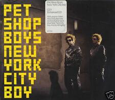 PET SHOP BOYS 'NEW YORK CITY BOY' RARE UK  4-TRACK CD 1