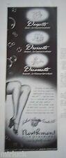 1940 Vintage Northmont Silk Stockings Dayette Dressette Dreamette Ad