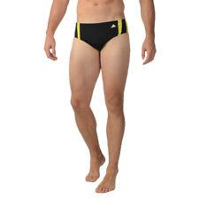 Adidas Event Brief Swim Boxer Trunks Speedo Brief Black & Yellow RETAIL PKG