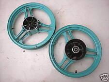 RUOTA ANTERIORE CERCHIO RUOTA POSTERIORE CERCHIONE GPZ 500 S Cerchio ruota wheel jante riem roue