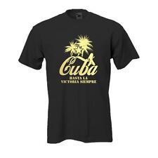 Cuba -- schwarzes Funshirt, lustige coole Sprüche, große Größen (BL014)
