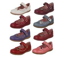 STARTRITE Ella FILLES CUIR BLANC riptape chaussures décontractées